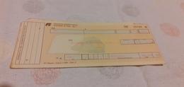 BIGLIETTO TRENO DA RHO A PALERMO CENTRALE 1989 - Treni