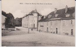 01  , Gex , Place Du Bourg D'en Haut Et Les écoles - Gex