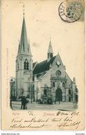 Dpt 92 Sceaux Eglise Carte Ecrite En 1906 - France