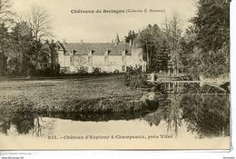 Dpt 35 L Espinay Pres Vitre La Porte De La Tourelle Serie Chateaux De Bretagne Collec Hamonic No829 - France