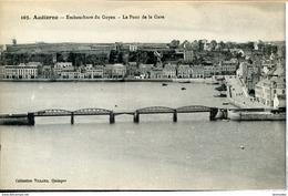 Dpt 29 Audierne Embouchure Du Goyen, Le Pont De La Gare 1920 Neuve TBE - Audierne