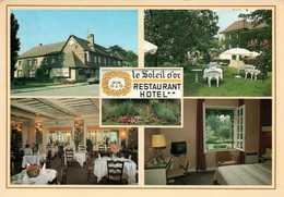 Dep 27 , Cpm Le SOLEIL D'OR , Restaurant Hotel  27550 , LA RIVIERE THIBOUVILLE , Multivues (1365) - Sonstige Gemeinden