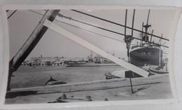 1935 Souse Tunisie Division Des Contres Torpilleurs Classe Bourrasque Cargo L'alsacien MARINE WW2 1939 1945 Photo - War, Military