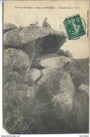 Dpt 22 Duault Environs De Callac Entree De La Vallee Mq Coin BG - Autres Communes