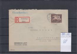 Deutsches Reich Michel Kat.Nr.  Gest 780 EF Reco Freilassing Bahnpost - Lettres & Documents