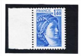 France N° 1975** ( Cote 1,80€ - Nuovi
