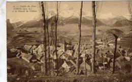Corps  -  Vallée Du Drac Et Le Massif De L'Obiou  -  CPA - Corps