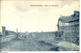 Dpt 80 Sauvilliers Rue De Moreuil  1920 Neuve BE - Other Municipalities