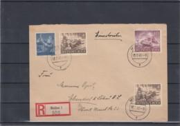 Deutsches Reich Michel Kat.Nr.   841 MiF Reco Meissen - Brieven En Documenten