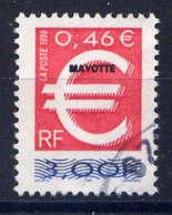 MAYOTTE  - 77° - EURO - Oblitérés