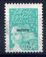 MAYOTTE  - 114° - MARIANNE DU 14 JUILLET - Mayotte (1892-2011)