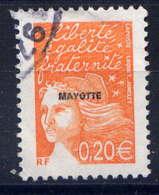 MAYOTTE  - 116° - MARIANNE DU 14 JUILLET - Oblitérés