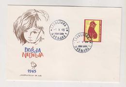 YUGOSLAVIA,1965 LJUBLJANA FDC Cover - Brieven En Documenten