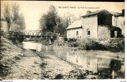 Dpt 54 St-Mard La Vire, Le Nouveau Pont  1919 EVT EC - France