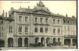 Dpt 54 Pont A Mousson La Mairie Animee 1914 EV TBE - Autres Communes