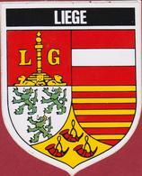 Heraldiek Heraldry Heraldique Wapen Weapon Wappen Blason Luik Liege Adesivo Aufkleber Sticker Autocollant - Stickers