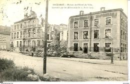 Dpt 54 Baccarat Ruines De L Hotel De Ville Incendie Le 25 Aout 1914 - France