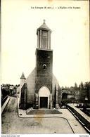 Dpt 28 La Loupe L Eglise Et Le Square 1936 EV EC Carte De 1920 - France