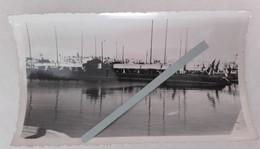 "1937 Sousse Sous Marin "" Atalante "" Classe Argonaute Et Submersible Classe Rubis Marine Escadre Ww2 1939 1945 2 Photos - War, Military"