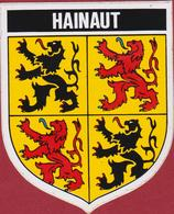 Heraldiek Heraldry Heraldique Wapen Weapon Blason Province Henegouwen Hainaut Adesivo Aufkleber Sticker Autocollant - Stickers
