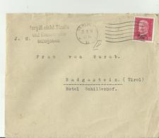 DR CV 1930 BERLIN - Lettres & Documents