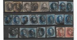 België  Assortiment Medaillons Zonder Wm - 1858-1862 Medallions (9/12)