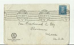 DR CV 1928 NACH USA - Storia Postale