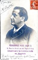 Publicitaire Photographes Pathe Depot E 4 Rue De Ricoli Coppee 7 Juin 1910 - Advertising