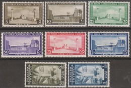 Italia Colonie Libia 1938 SaN°146-A35 8v Cpl MNH/** Vedere Scansione - Libye