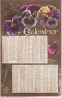 Carte Calendrier De 1917 - Petit Format : 1901-20