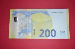 FRANCE 200 EURO - U003 A5 - Serie Europa - UD2051526501 - UNC NEUF - EURO