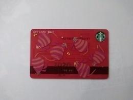 China Gift Cards, Starbucks,  2019, (1pcs) - Cartes Cadeaux