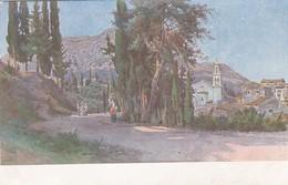 CORFOU - Avenue De La Source De L'Impératrice Elisabeth Gastouri - Grecia
