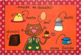 Recettes De Cuisine - Mousse Au Chocolat - Illustration De Sophie Zazzeroni - Carte Neuve - Gastronomie - Voir Scans Rec - Recettes (cuisine)