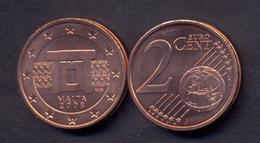 EuroCoins < Malta > 2 Cents 2008 UNC - Malta