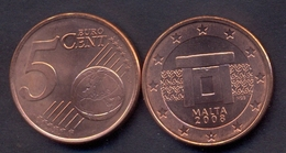 EuroCoins < Malta > 5 Cents 2008 UNC - Malta