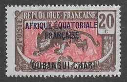OUBANGUI-CHARI  1924 - YT 50** - MNH - Unused Stamps