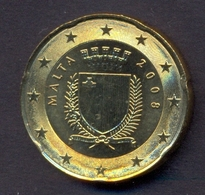 EuroCoins < Malta > 20 Cents 2008 UNC - Malta