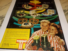 ANCIENNE  PUBLICITE BIENTOT NOEL   AVEC TEPPAZ LYON 1960 - Other