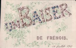 UN BAISER DE FRENOIS (1907, Paillettes) - France