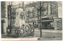 St. Cloud-Montretout - Monument érigé En Souvneir De La Bataille De Montretout (19 Janvier 1871) - Saint Cloud
