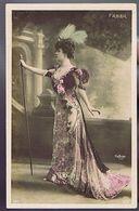 Artiste 1900 - Faber- Colorisée -  Cliché Reutlinger - Teatro