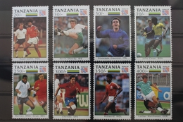Tansania 1806-1813 ** Postfrisch Fußball WM #SE215 - Tanzania (1964-...)