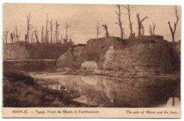 Ypres - Porte De Menin Et Fortifications - Ieper