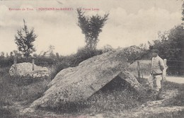 FONTAINE-les BASSETS (environs De TRUN): La Pierre Levée - Trun