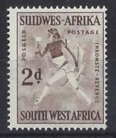 "SOUTH WEST AFRICA...QUEEN ELIZABETH II.(1952-NOW)..."" 1954.."".....2d.......SG155........MNH... - Zuidwest-Afrika (1923-1990)"