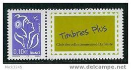 3916A Timbres Plus** (Timbre à Tirage Spécial) - Unused Stamps
