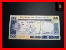 SOMALIA 100 Shilin Soomaali 1978 P. 24  Stain  VF - Somalia