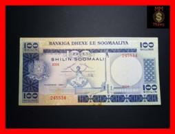 SOMALIA 100 Shilin Soomaali 1980 P. 28 Stain  VF - Somalia