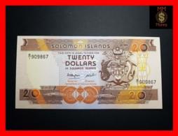 SOLOMON 20 $ 1986 P. 16  UNC - Solomon Islands